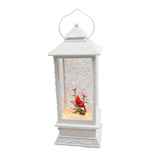 White Cardinal Water Spinner Lantern