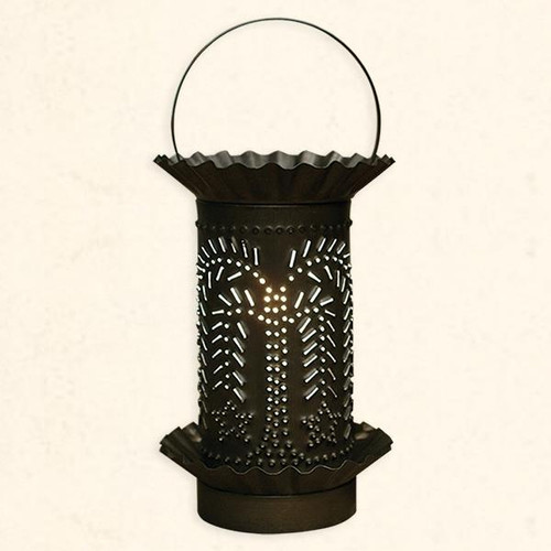 Punched Tin Warmer Black