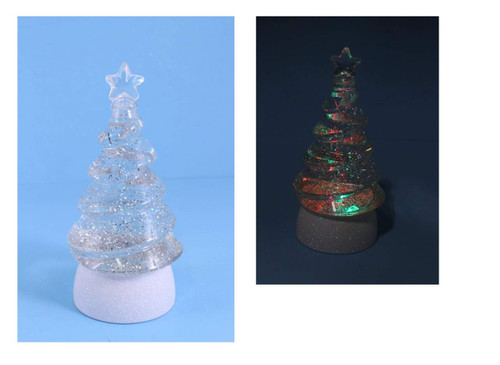 LED Color Changing Water Spinner Tree
