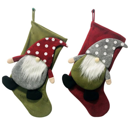 Gnome Stocking (2 Colors to choose from)