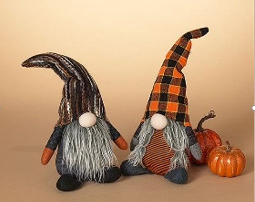 """12"""" Plush Halloween Gnome (2 Styles to choose from)"""