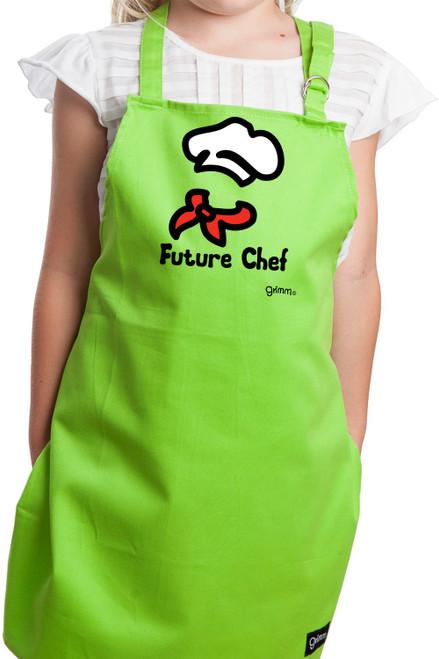 Kids Apron - Future Chef w/Adjustable Straps