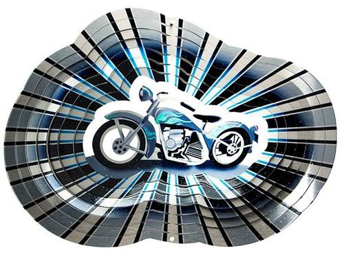 "6.5"" Motorcycle Wind Spinner"