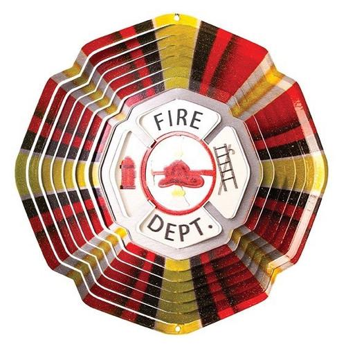 "6.5"" Fire Department Wind Spinner"