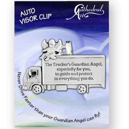 TRUCKER'S GUARD ANGEL VISOR CLIP