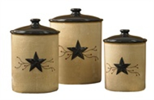 Star Vine Canister Set