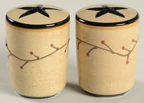 Star Vine Salt & Pepper Shakers (set)