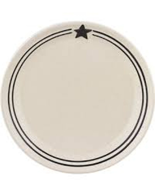 Country Star Salad Plate