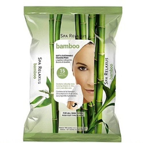 Bamboo with Aloe Facial Cleansing Wipes