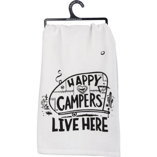 Dish Towel - Happy Campers