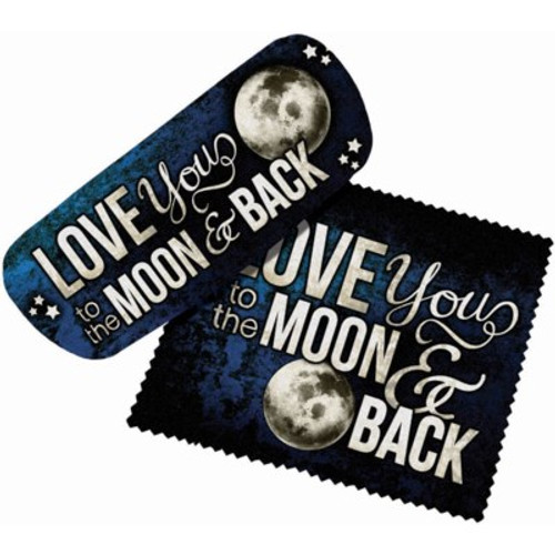 MOON AND BACK EYEGLASS CASE