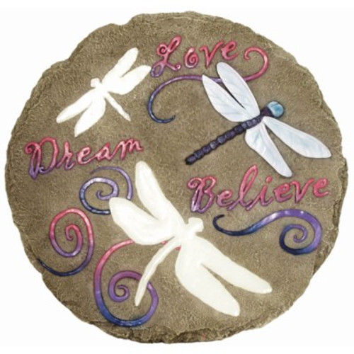 DRAGONFLY GLOW STEPPING STONE