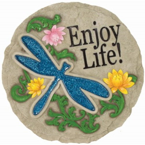 DRAGONFLY STEPPING STONE (Enjoy Life)