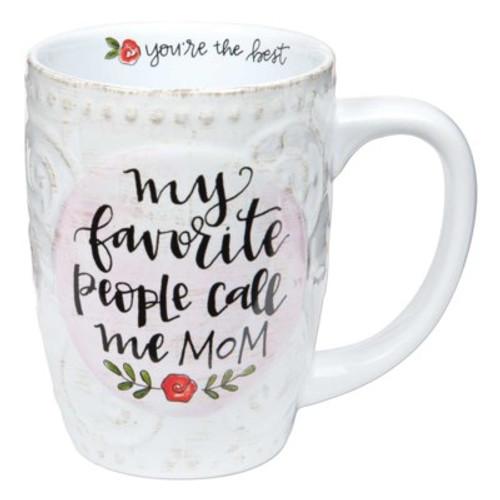 """""""Call Me Mom"""" Simple Inspirations Mug"""