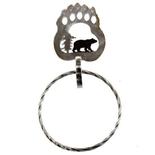 Bear Claw Towel Ring