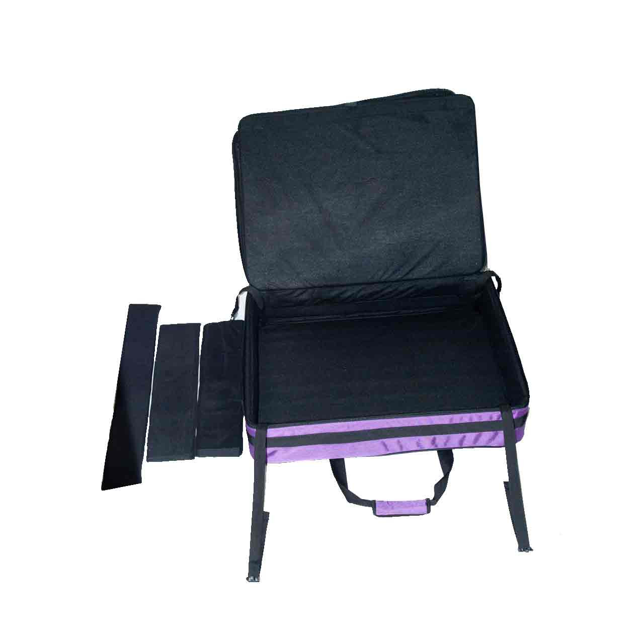 Padded protective board and padded dividers.