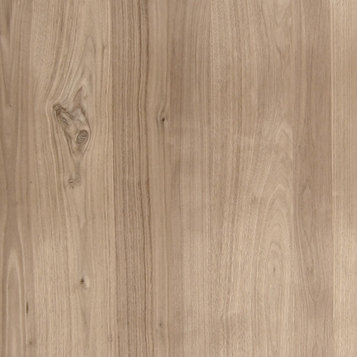Walnut Veneer - Rustic Knotty Planked w/Sap Premium Panels