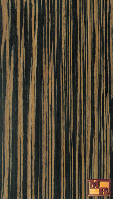 Ebony - V-Tec Veneer - Light Quartered