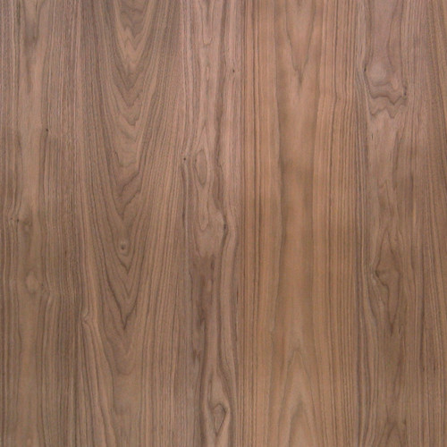 Walnut Veneer - Random Planked No Knots No Sap Uniform Color