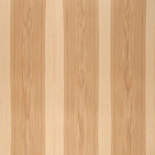 Flat Cut Two Tone Hickory Veneer