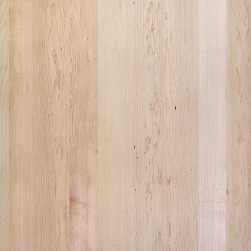Maple Veneer - Random Planked Flat Cut No Knots