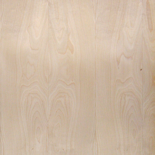 Maple Veneer - Rotary with Seams