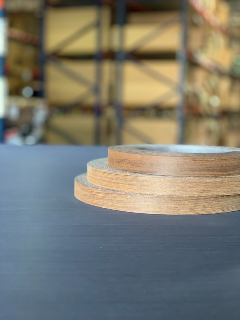 Quartered Wenge Edgebanding