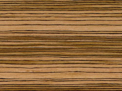 Qtr Zebrano Wood Veneer - ZB-011S