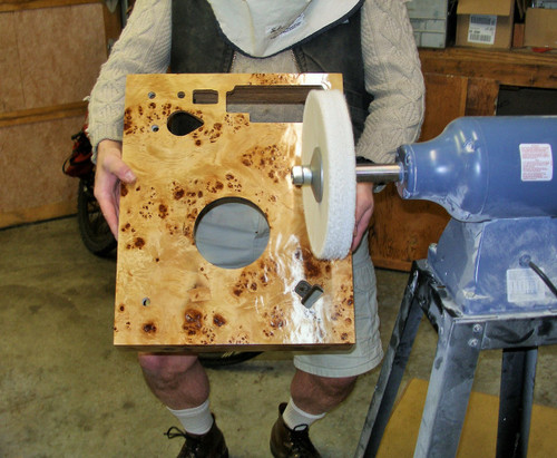 French Burl Pioneer Turntable