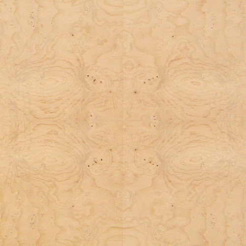 Ash Veneer - White Burl Low Figure Panels