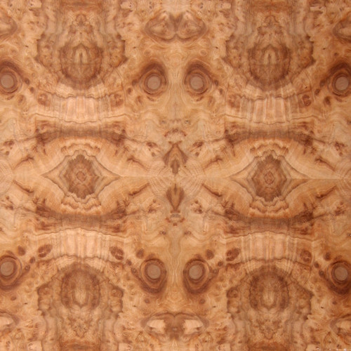 Camphorwood Burl Veneer - Medium Figure Panels