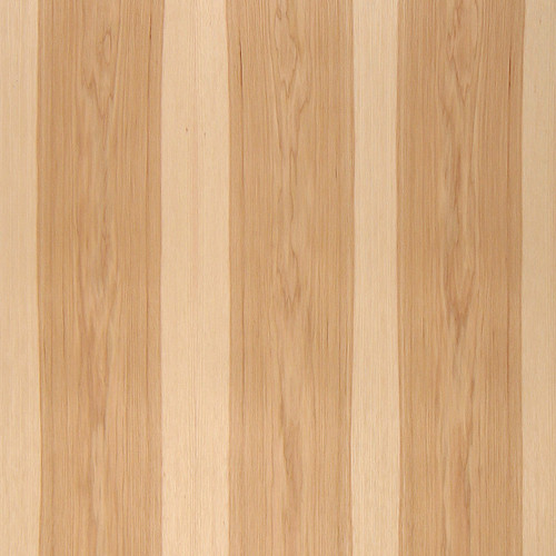 Flat Cut Two Tone Hickory Veneer