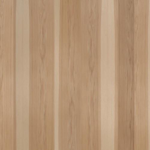 Hickory Veneer - Rustic Random Planked No Knots Premium Panels