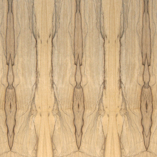 Limba Veneer - Black Two Tone Panels