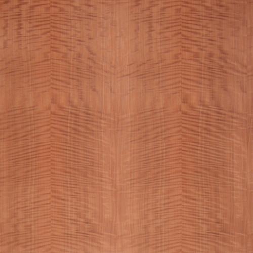 Makore Veneer - Fiddleback Medium Figure Panels