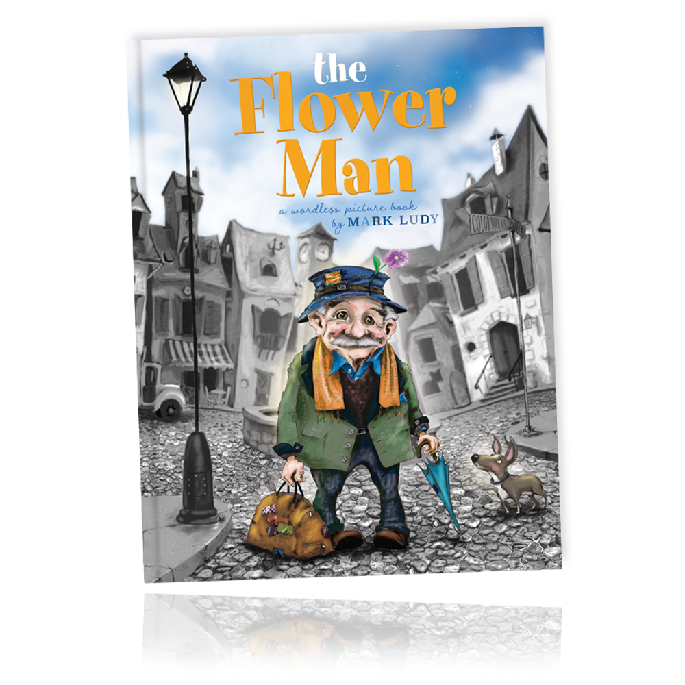 THE FLOWER MAN / A wordless picture book