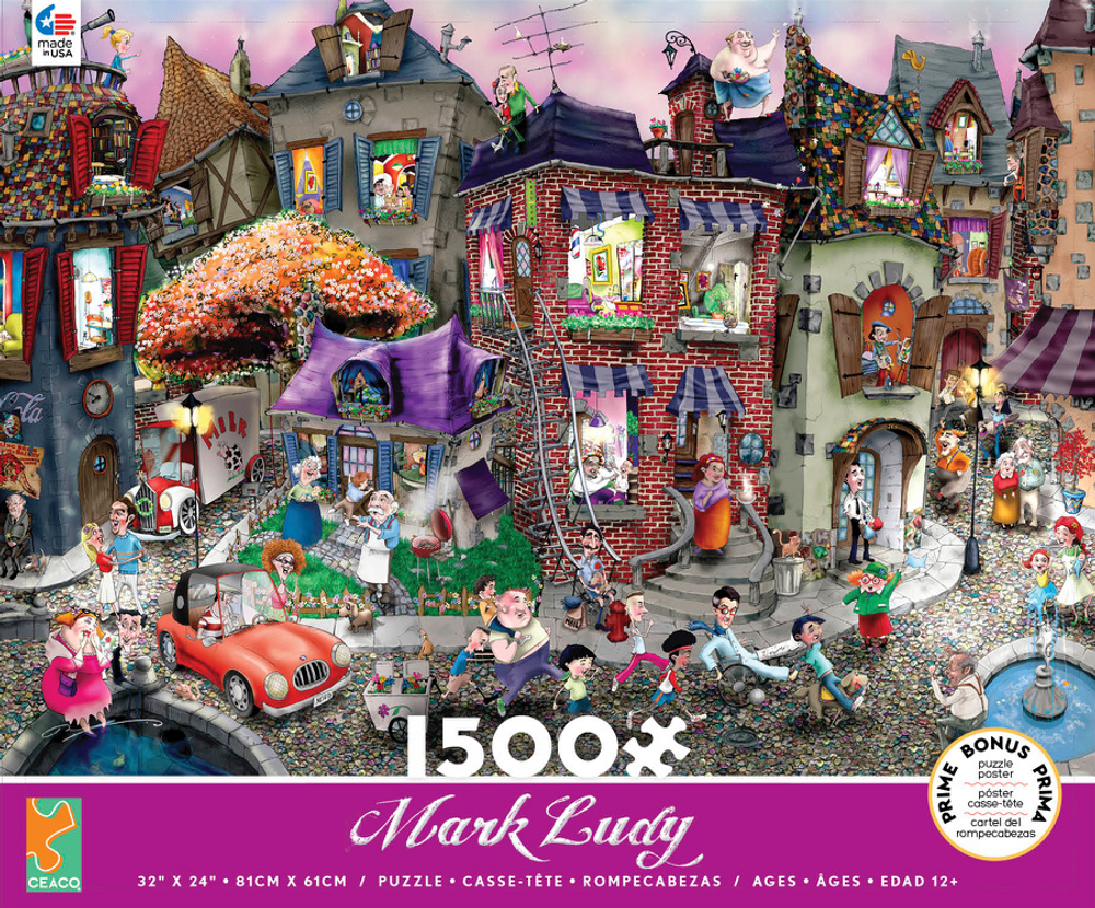 Night Celebration 1500 Pc Puzzle / Ceaco Edt.