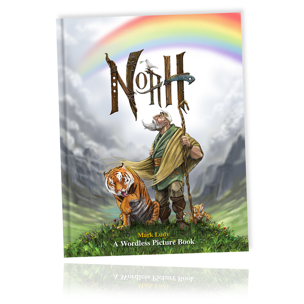 Noah; The Wordless Picture Book / An epic visual feast for the eyes.