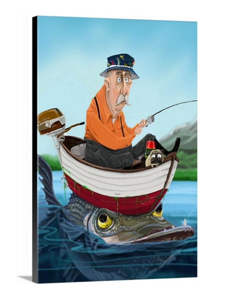 Big Fish / Artwork by Mark Ludy