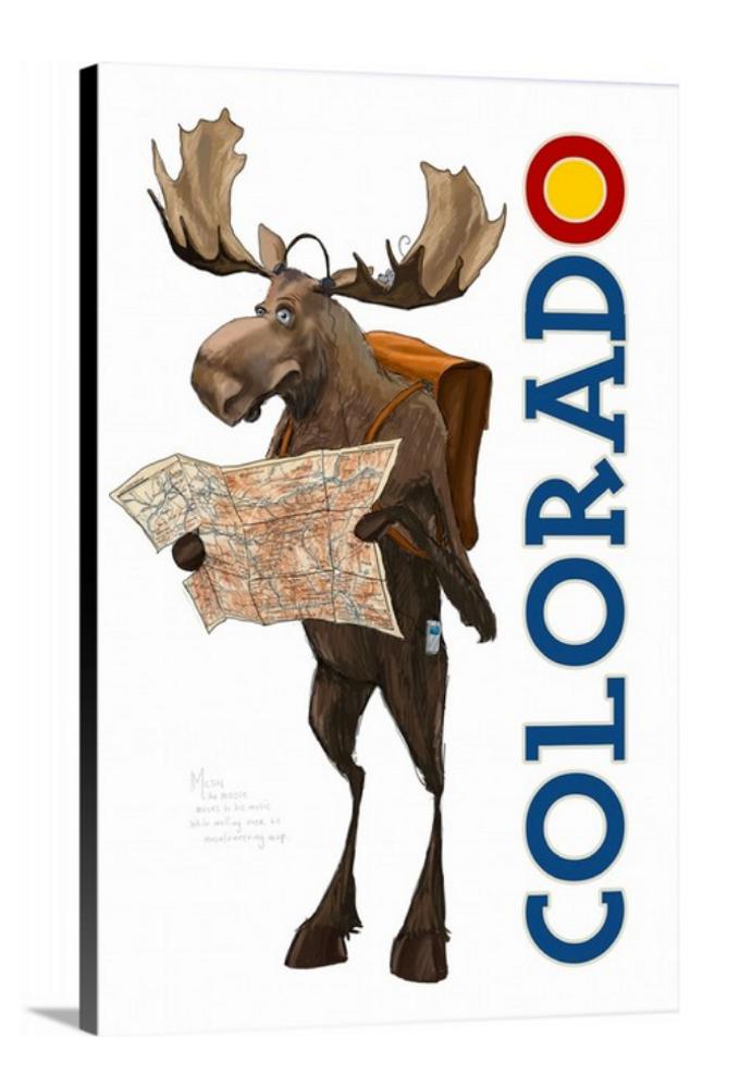 Colorado Moose / Artwork by Mark Ludy