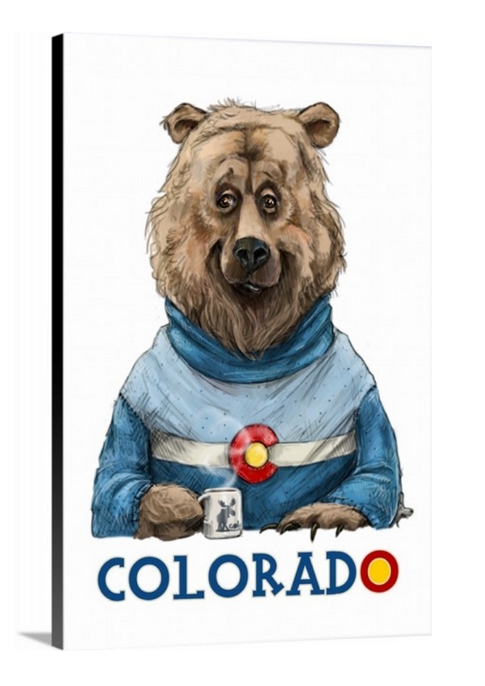 Colorado Bear / Artwork by Mark Ludy