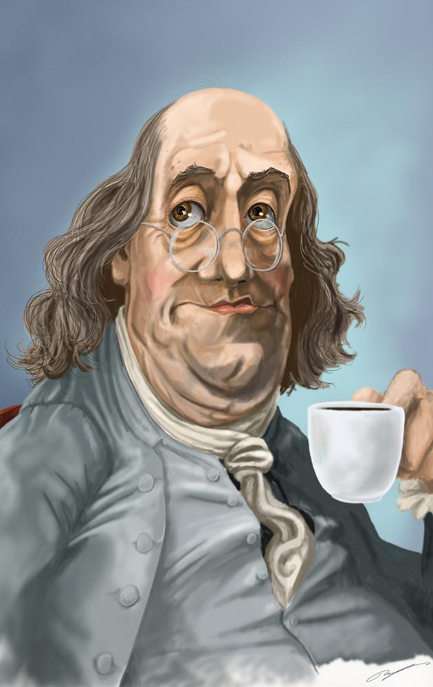 $100 Cup / Artwork by Mark Ludy