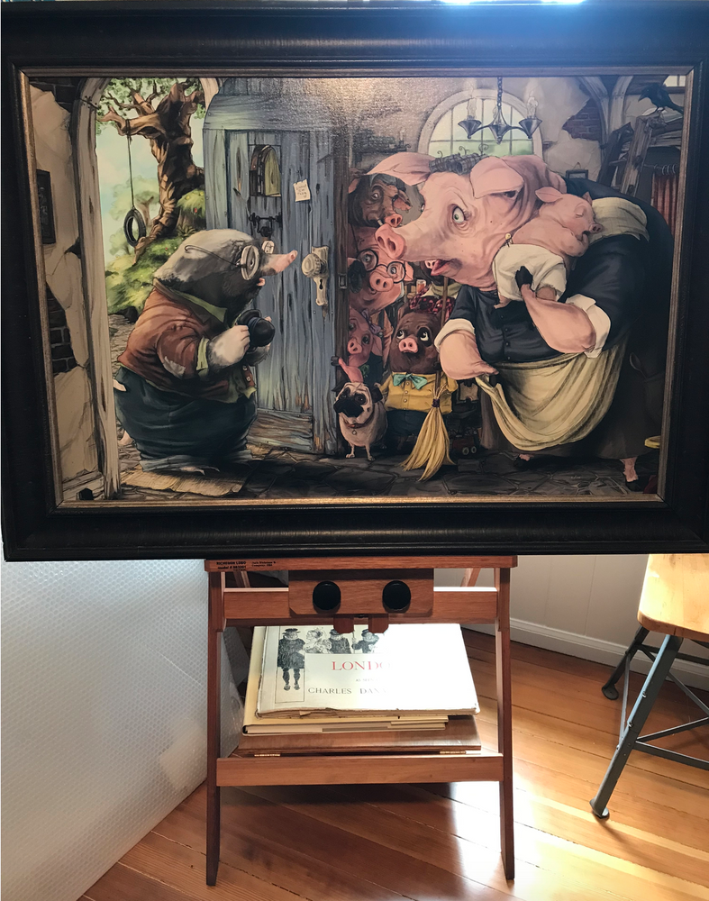 Molerton Mole's Visit / Limited Edition of 10