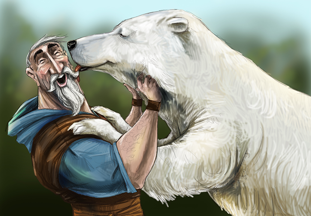 Polar Bear Kisses / Artwork