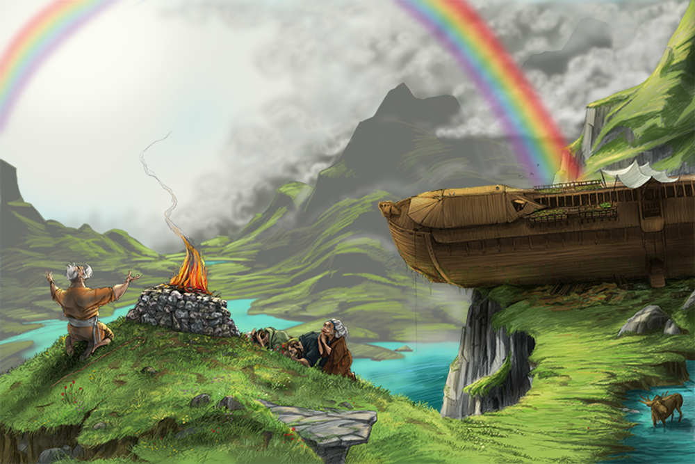 Rainbow Covenant / Artwork
