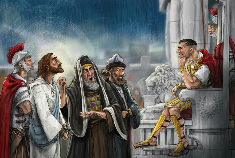 Jesus Before Pilot