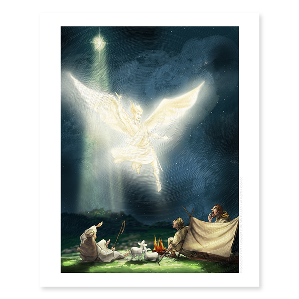 Angel Declaration / Sm Print