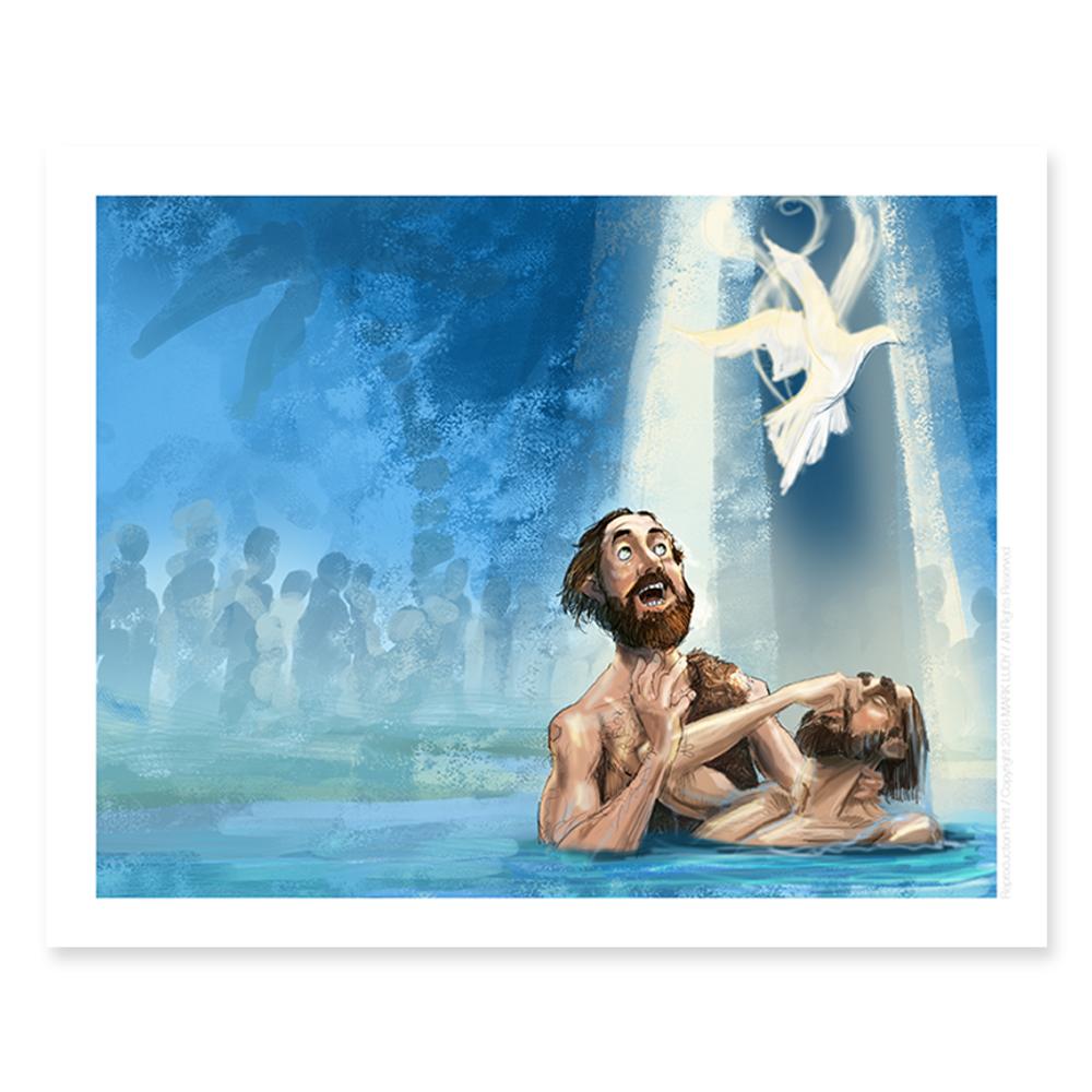 Baptism / Sm Print