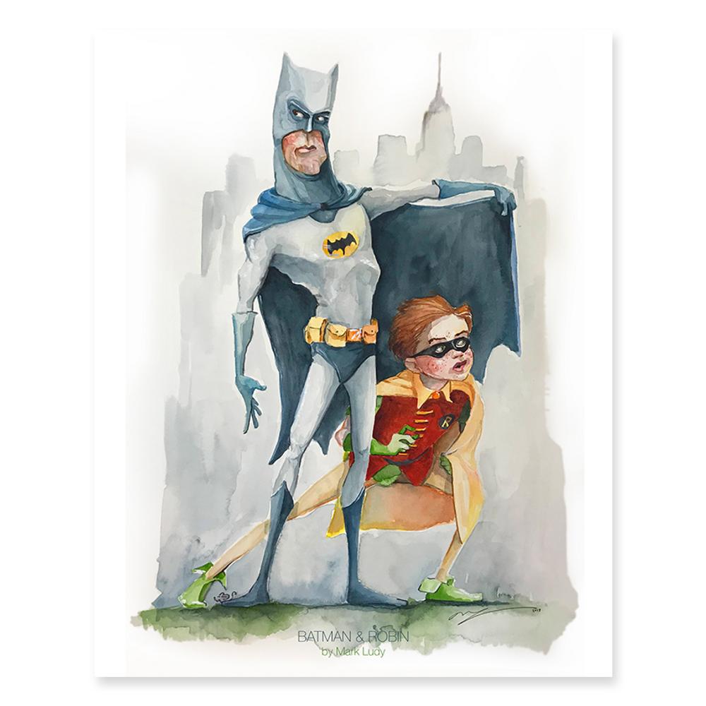 Batman & Robin / Sm Print