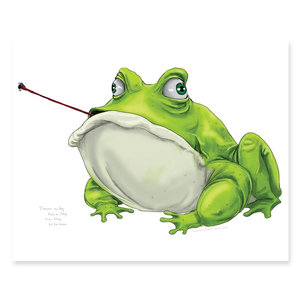 Frankie the Frog / Sm Print